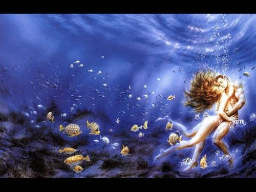 magical mermaids - mermaids Wallpaper