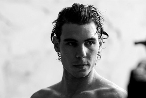 Rafael Nadal wallpaper possibly containing a portrait titled nadal armani underwear
