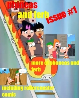 phineas and ferb magazine cover (fanmade)
