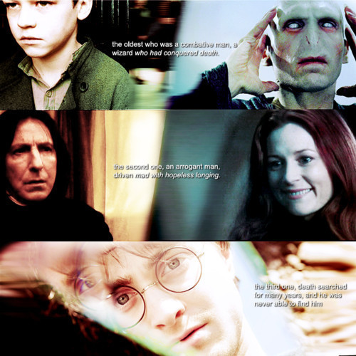 three men of the Deathly Hallows