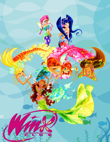 The Winx Club پیپر وال called winx mermaid