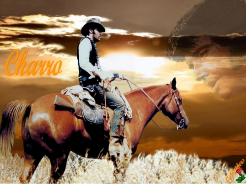 Elvis Presley wallpaper with a horse wrangler, a horse trail, and a dressage entitled   Elvis as charro