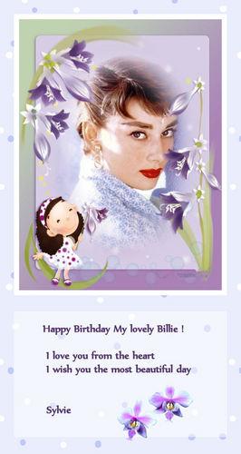 (¯`*•.¸ ಌಌ Happy Birthday My Billie ಌಌ¸.•*´¯)