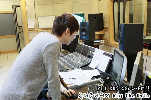 Leeteuk&Eunhyuk at 吻乐队(Kiss) the radio