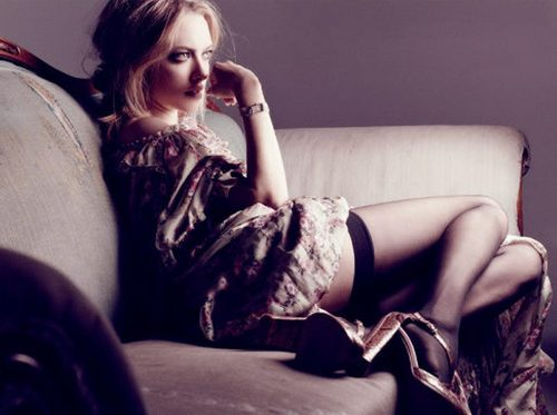 Amanda's 'Interview' magazine photoshoot (2011).