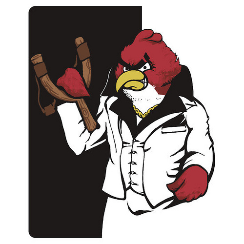 Angry birds scarface