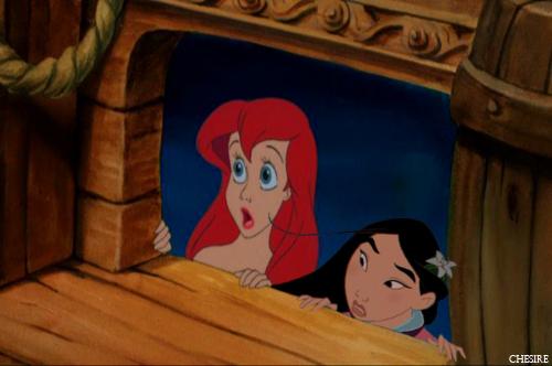 Ariel/Mulan