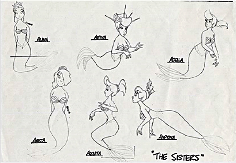Walt Disney Characters Images Sketches
