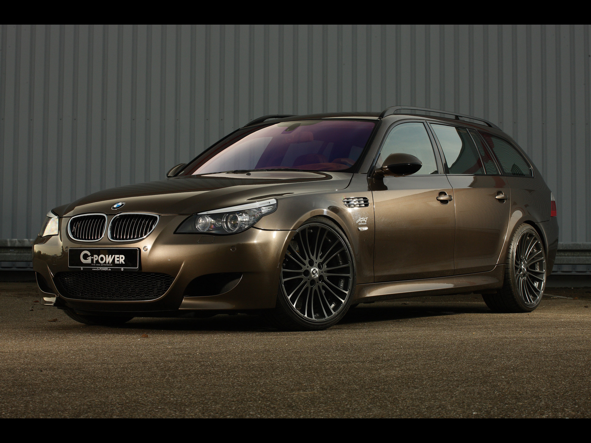 bmw m5 e61 hurricane rs touring by g power bmw wallpaper. Black Bedroom Furniture Sets. Home Design Ideas
