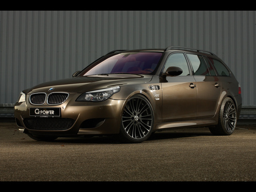 BMW M5 E61 HURRICANE RS TOURING BY G-POWER