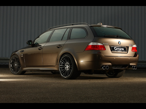 bmw M5 E61 HURRICANE RS TOURING por G-POWER