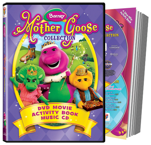 Barney & Marafiki - Mother goose, bata bukini Collection DVD