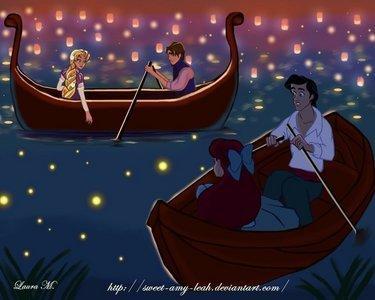 лодка Rides