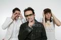 Brandon, Bono, and Johnny Borrell