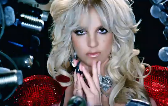 britney spears hold it against me makeup. ritney spears hold it against