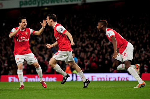 Cesc (Arsenal - Stoke)