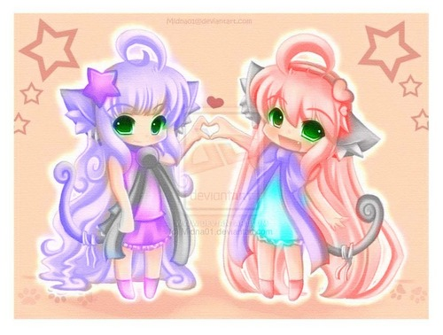 Crystal nd krisha best Friends :3