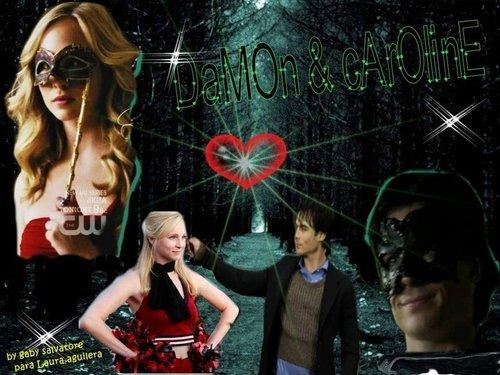 Damon & Caroline