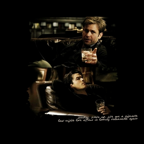 Damon and Alaric