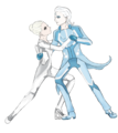Dance me to the End of Love - castor-from-tron-legacy fan art
