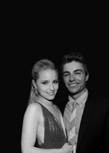 Dave Franco वॉलपेपर containing a business suit entitled Dave Franco and Dianna Agron