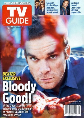 Декстер Tv Guide Magazine Cover