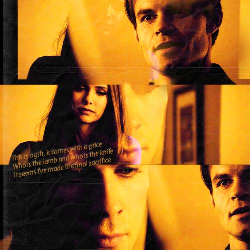 Elijah wallpaper possibly containing anime titled Elijah/Damon/Elena