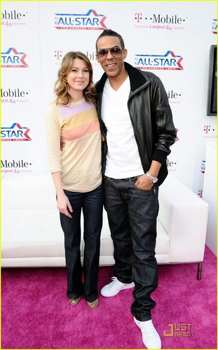Ellen Pompeo: All-Star Game with Chris Ivery!
