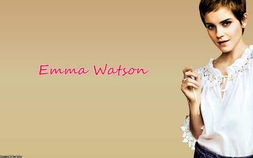 Emma Watson (Vogue) wallpaper (Reworked)