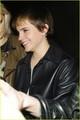 Emma Watson leaves Bungalow 8 night club