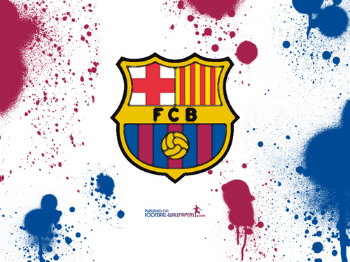 FC Barcelona wallpaper probably containing anime called Fcb