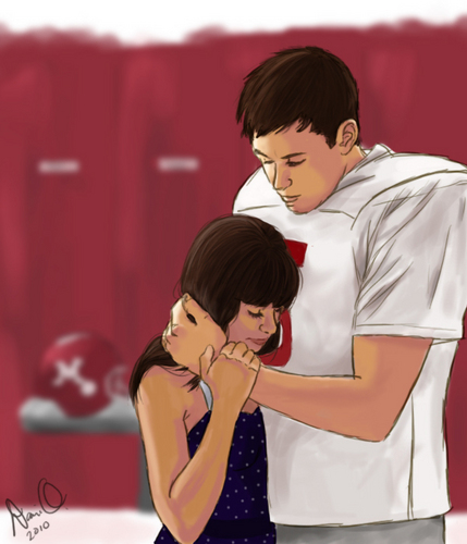 Glee wallpaper titled Finchel Fan Art