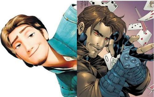 Flynn and Gambit