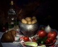 Fresh Ingredients - italian-food wallpaper