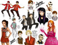 Glee Cast - glee fan art