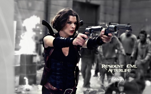 Resident Evil wallpaper called Go Ahead Shoot