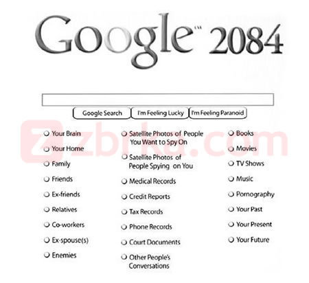 Comedy wallpaper called Google 2084
