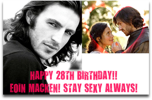 Happy Birthday to Eoin on 21st Feb!!ツ