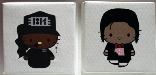 Hello Kitty - MJ style