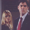 Hotch & JJ photo with a business suit entitled Hotch & JJ