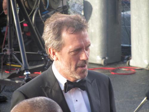 Hugh on the Red Carpet