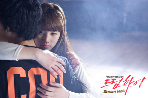 Dream High Обои with a portrait entitled Hye Mi & Sam Dong