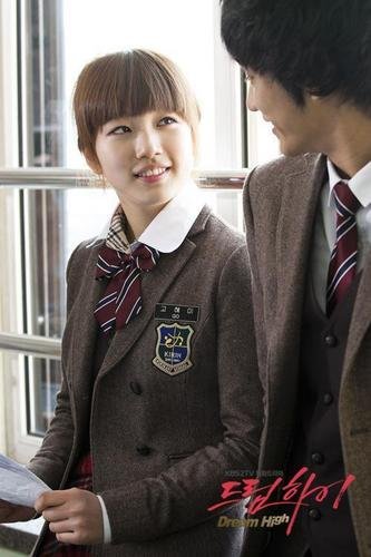 Dream High wallpaper with a business suit titled Hye Mi & Sam Dong