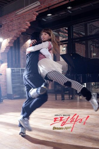 Dream High Обои probably with a lippizan and a hip boot called Hye Mi & Sam Dong