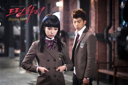 Dream High wallpaper probably with a business suit titled IU as Kim Pil Sook