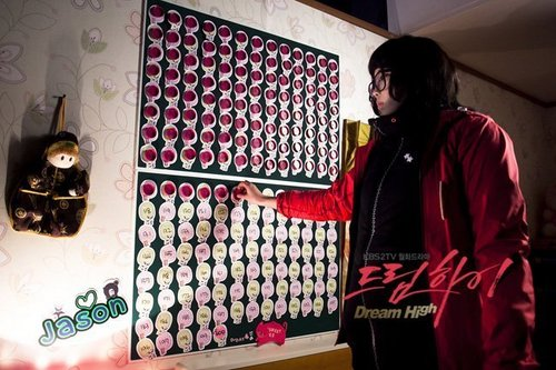 Dream High wallpaper probably with an electric refrigerator called IU as Kim Pil Sook