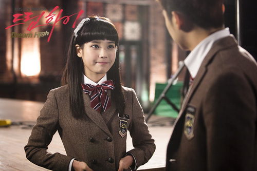Dream High wallpaper with a business suit called IU as Kim Pil Sook