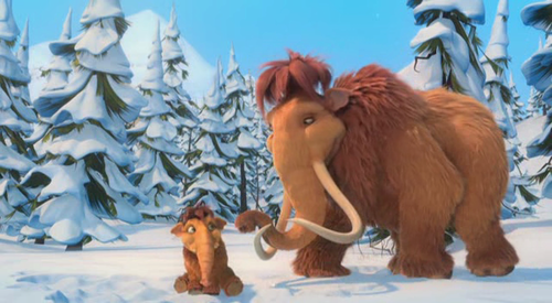 Ice Age achtergrond possibly with a horse wrangler and a horse trail titled Ice age good quality screenshots