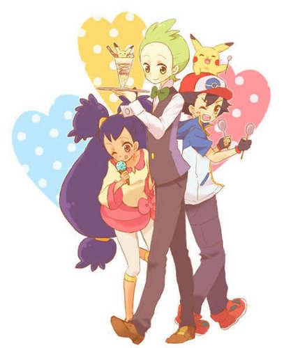 Iris and friends