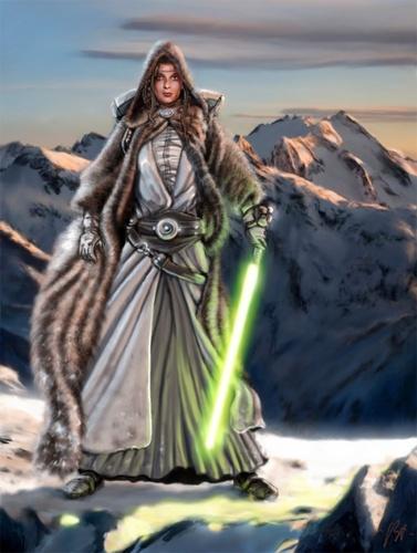 Star Wars wallpaper titled Jedi-Master Tohno